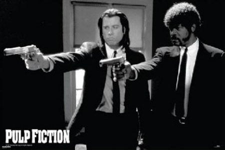 Pulp Fiction - Guns (24x36) - FLM00023
