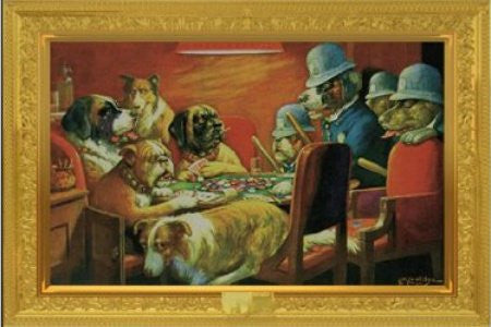 Coolidge Dogs Busted (24x36) - HMR00006