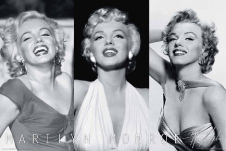 Marilyn Monroe - Trio (24x36) - PIN57021