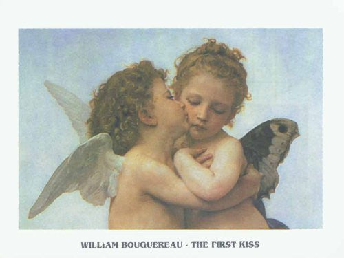 FAR32119 Bouguereau - 'The First Kiss' (23 X 31)