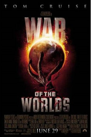 "FLM00044"" War of the Worlds - 'Movie Promo"" (24 X 36)"