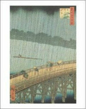 Utagawa Hiroshige - 'Sudden Shower' (11x14) - FAR00922