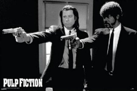 Pulp Fiction - Guns (39x54) - FLM01448