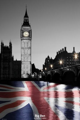 "Tanya Chalkin - ""Big Ben"" (24x36) - ARC32674"