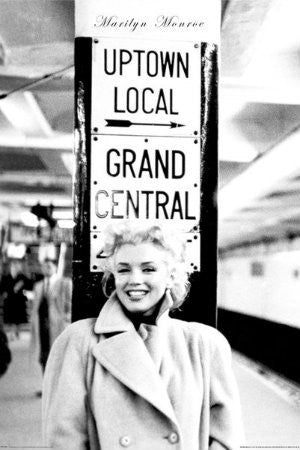 Marilyn Monroe - Grand Central Station (24x36) - PIN51091