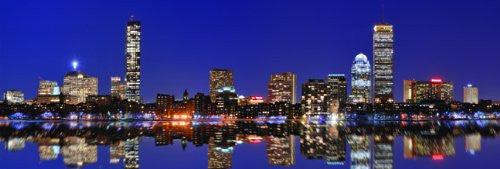 Boston Skyline (12x36) - ARC32662