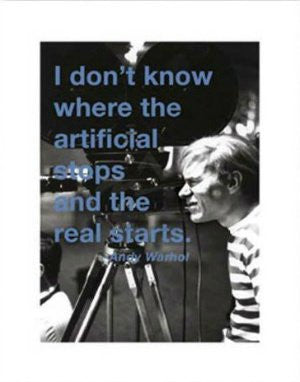 Andy Warhol Quote (11x14) - FAR00322