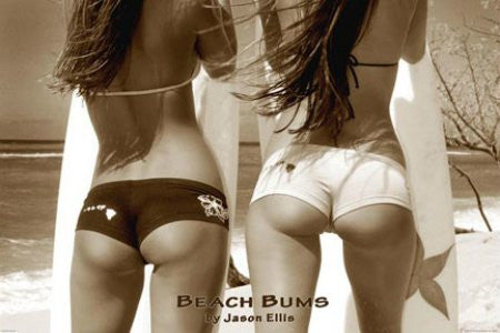 "PIN00122"" Anonymous - Beach Buns"" (24 X 36)"