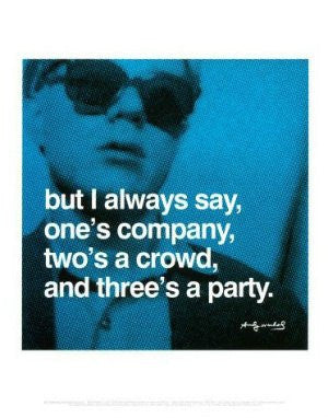 Andy Warhol Quote (11x14) - FAR41586