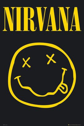 Nirvana Smiley Face (24x36) - MUS89902