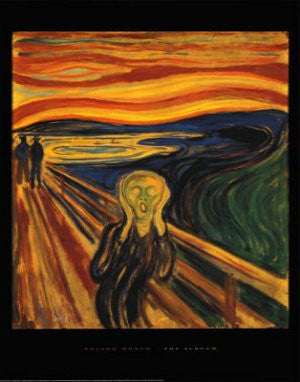 "FAR32443"" Edvard Munch - The Scream"" (11 X 14)"