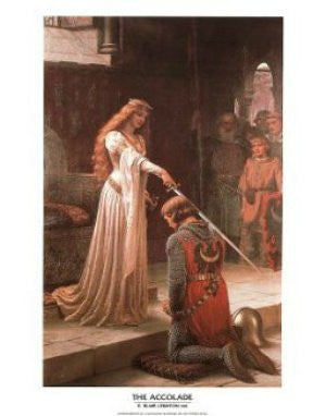 E. Blair Leighton - 'The Accolade' (11x14) - FAR00237