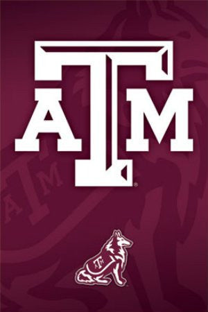 "SPT33353 ""NCAA - Texas A&M"" (22 X 34)"