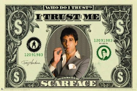 "FLM00082"" Scarface - Money"" (39 X 54)"