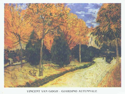 FAR32590 Van Gogh, V. - 'Autumn Garden' (23 X 31)