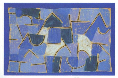 FAR33180 Klee, P. - 'Blue Night' (23 X 31)