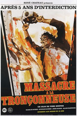 Texas Chainsaw Massacre (French) (24x36) - FLM90054