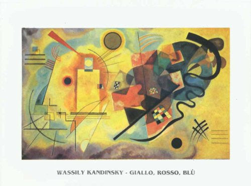FAR31259 Kandinsky, W. - 'Yellow, Red, Blue' (20 X 28)