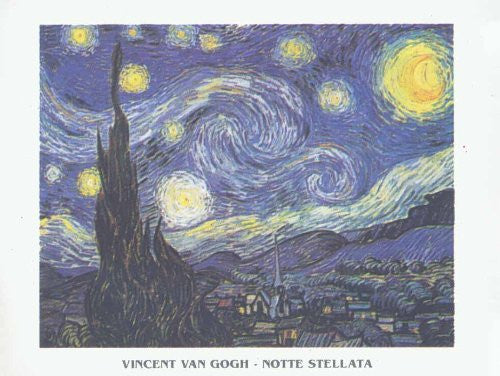 FAR32450 Van Gogh, V. - 'Starry Night' (23 X 31)