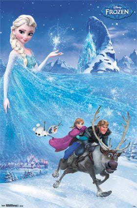 FLM06038 Frozen - One Sheet (24x36)