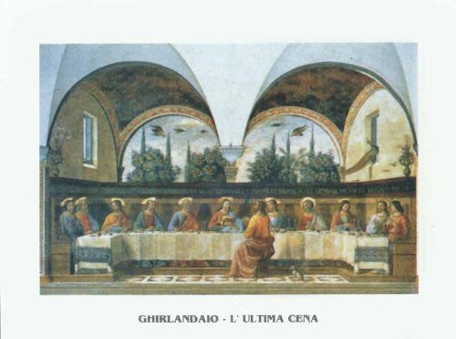 FAR31289 Ghirlandaio - 'The Last Supper' (23 X 31)