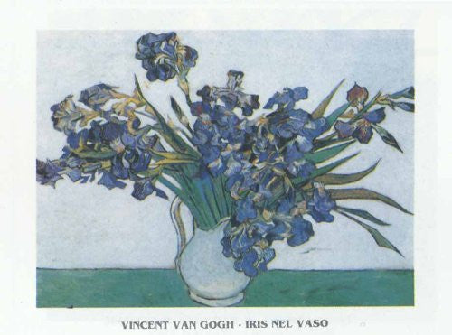 FAR31237 Van Gogh, V. - 'Vase of Irises' (20 X 28)