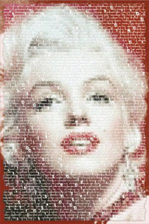 Marilyn Monroe (Image Collage) (24x36) - PIN00351