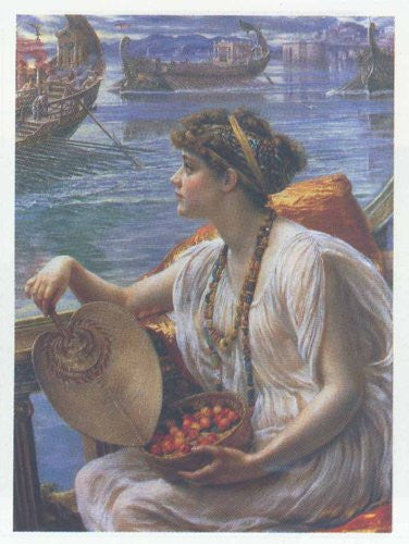 FAR33222 Poynter - 'Roman Boat Race' (20 X 28)