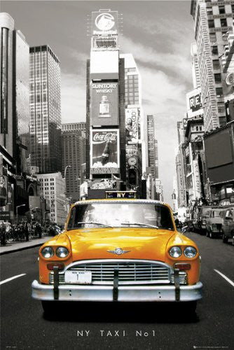 New York - Taxi No1 (24x36) - FAR00141
