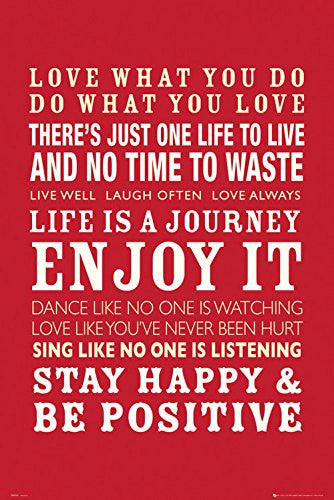 ISP0045 - Happiness Quotes 24x36