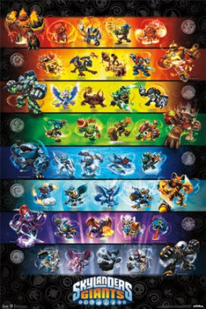 "FLM56051 ""Skylanders 2 - Group"" (22 X 34)"