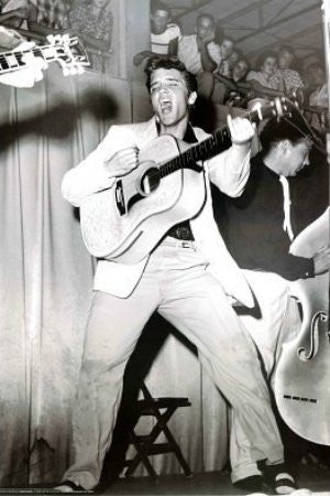Elvis Presley - Live on Stage (24x36)