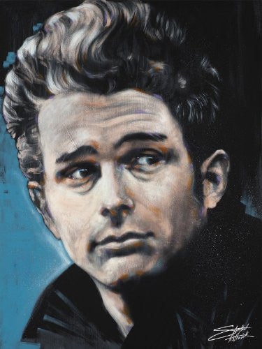 "Stephen Fishwick - ""James Dean"" (18x24) - CANV00007"
