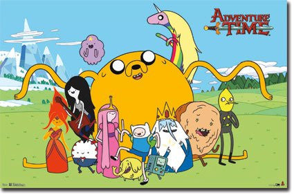 FLM56050 Adventure Time - Group (22 X 34)