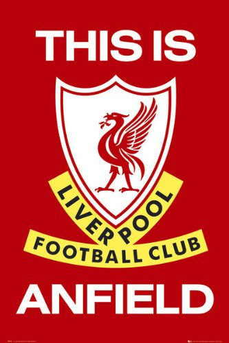 SPT33320 Liverpool - This is Anfield (24 X 36)