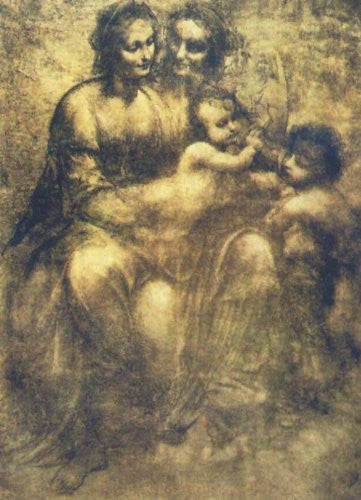 FAR31757 Da Vinci, L. - 'The Virgin and Child' (20 X 28)