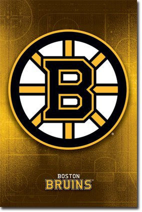 Boston Bruins Logo (24x36) - SPT44536
