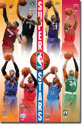 SPT33371 NBA - Superstars 12 (22 X 34)