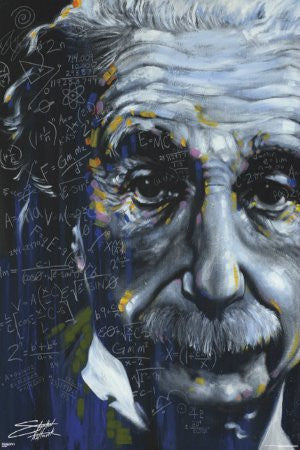 Einstein - It's All Relative (39x55) - ISP33000