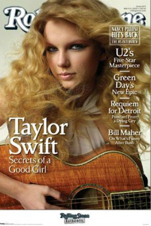 Taylor Swift - Rolling Stone Cover (22x34) - MUS00310