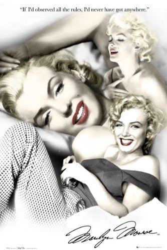 Marilyn Monroe - Rules (24x36) - PIN51200