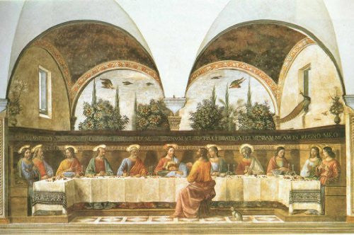 FAR31107 Ghirlandaio - 'The Last Supper' (23 X 31)