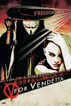 "FLM00024"" V for Vendetta Movie - Victory"" (24 X 36)"