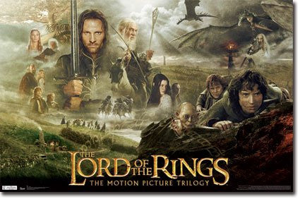 "FLM56021 ""Lord of the Rings - Trilogy"" (22 X 34)"