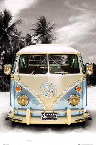California Camper VW Bus (24x36)