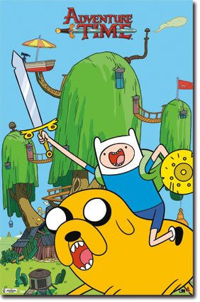 FLM56060 Adventure Time - Finn & Jake (22 X 34)