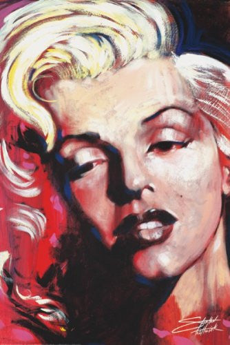 "Stephen Fishwick - ""Marilyn Monroe HOT!"" (18x24) - CANV00023"