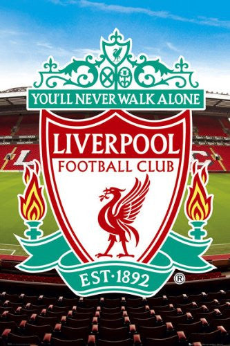 SPT36581 Liverpool Club Crest 24X36