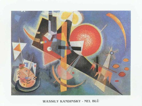 FAR31251 Kandinsky, W. - 'In The Blue' (20 X 28)