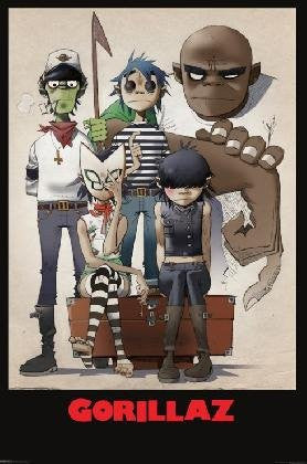 Gorillaz All Here - MUS23143